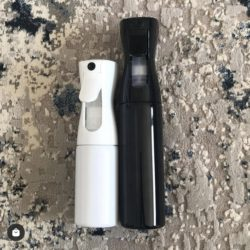 white continuous mist fimi spray bottle
