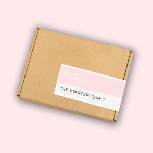 Curly girl method type 3 hair starter kit