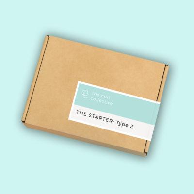 Curly girl method type 2 hair starter kit
